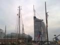 Hafensilouette von Bremerhaven