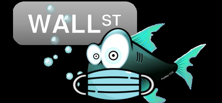 Comic-Fisch mit Maske